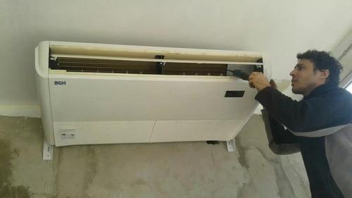 instalacion colocacion split aire acondiconado matriculado