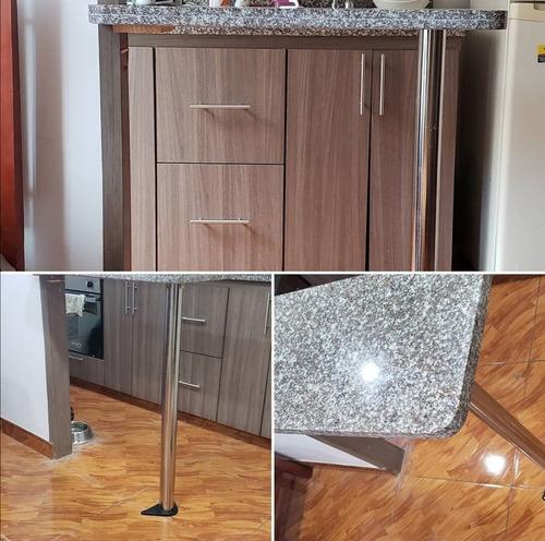 instalación con taladro, pisos, cocinas integrales