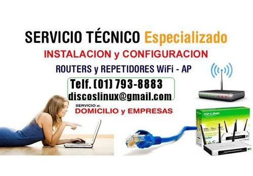 instalacion configuracion de repetidores wifi los olivos etc