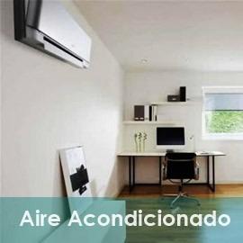 instalación de aire acondicionado (en el dia)