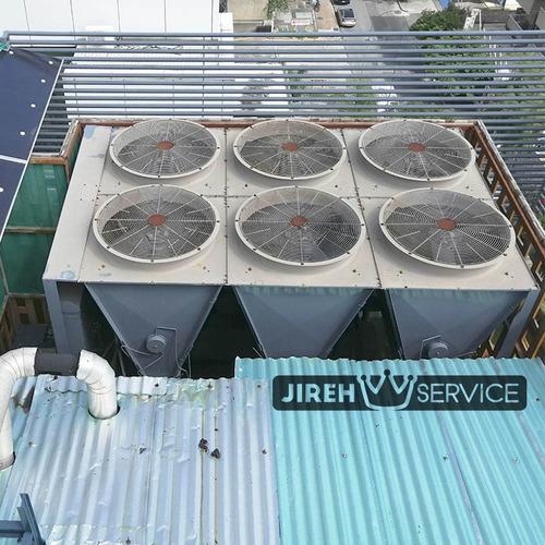 instalación de aire acondicionado industrial chiller uma