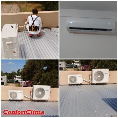 instalación de aire acondicionado, matriculado, la plata