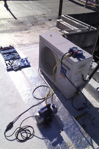 instalación  de aire acondicionado service  mantenimiento