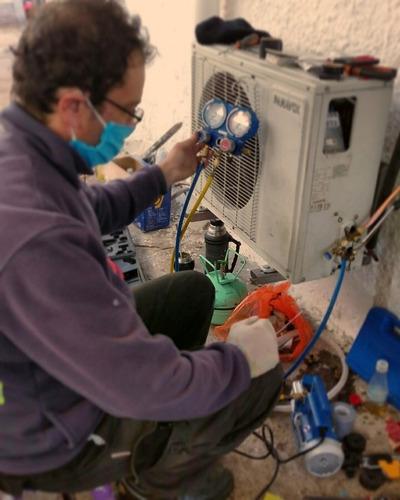 instalación de aire acondicionado, servicio,venta de equipos