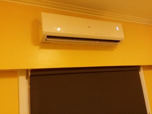 instalacion de aire acondicionado split matriculado