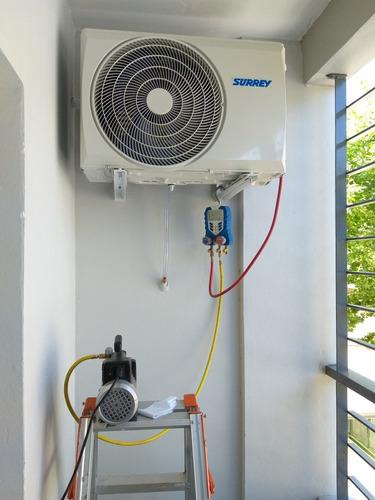instalación de aire acondicionado split - service - repara