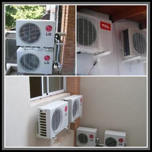 instalacion de aire acondicionados - split - inverter.