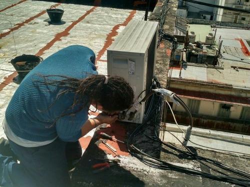 instalacion de aire acondiconado split