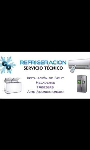instalacion de aireacondicionados  g.o. refrigeraciones