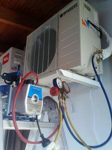 instalación de aires acondicionados , service , reparación
