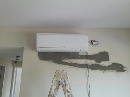 instalacion de aires acondicionados split matriculado