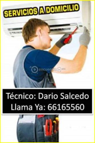 instalación de aires acondicionados y limpieza