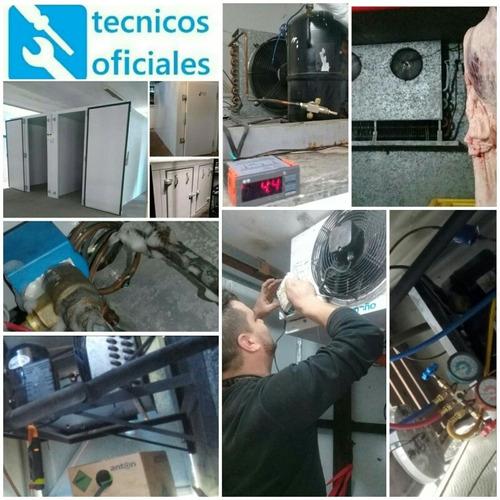 instalacion de aires split y carga de gas