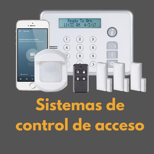 instalación de alarmas y  sistemas de seguridad