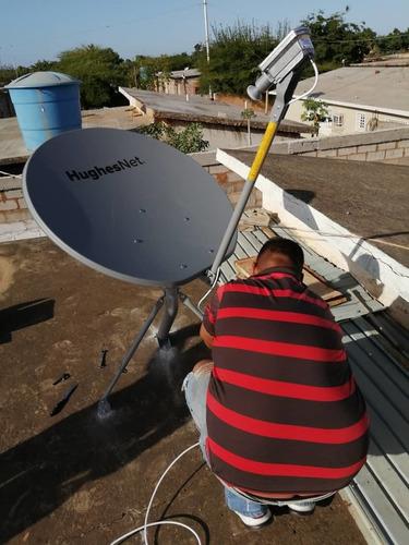 instalación de antenas satelitales de internet