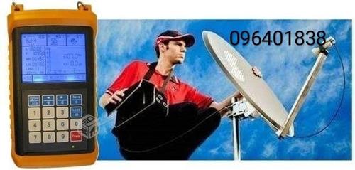 instalación de antenas satelitales. directv, fta.  garantía