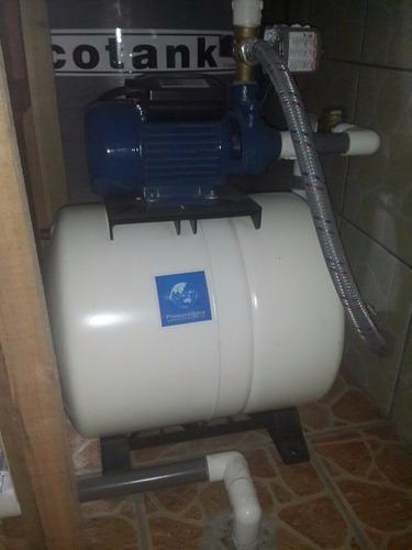 instalación de bombas automáticas para agua