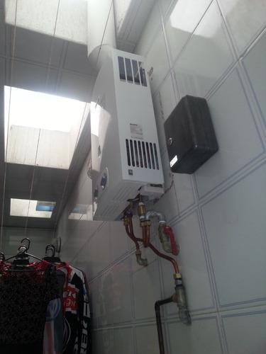 instalación de calentadores