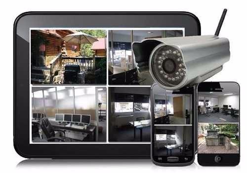 instalación de cámara de seguridad, servicios y configuració