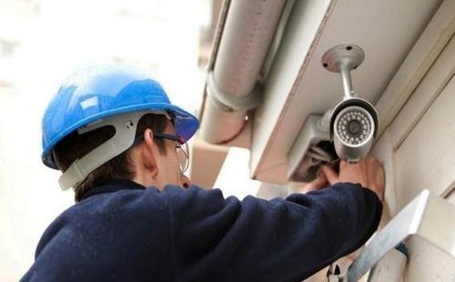 instalación de cámara de seguridad y refacciones