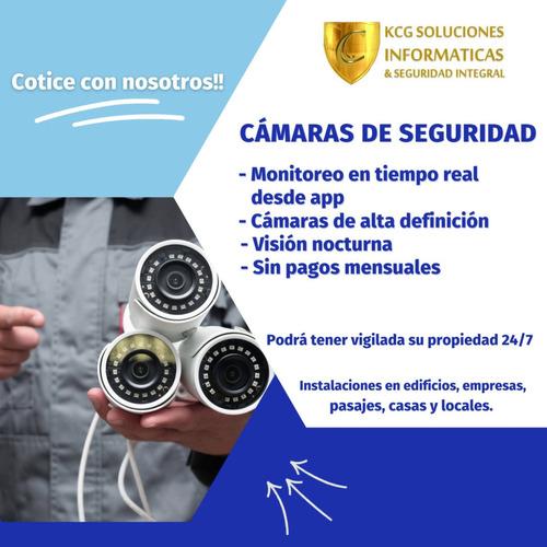 instalación de cámaras de seguridad cctv