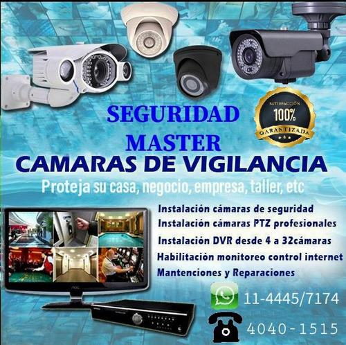 instalación de cámaras de seguridad y alarmas vecinal.