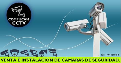 instalación de cámaras de seguridad y cercos eléctricos.