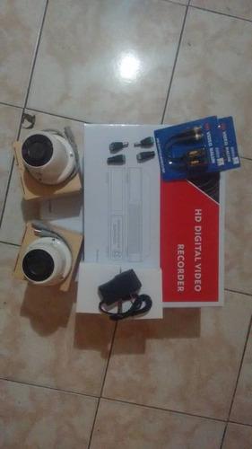 instalación de cámaras de seguridad y  mantenimiento
