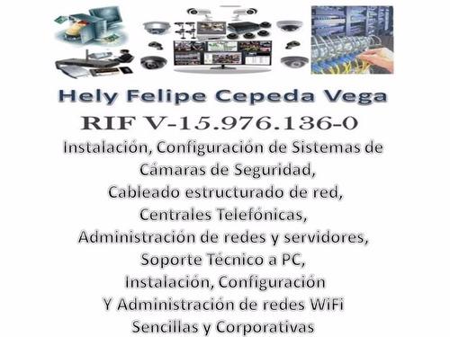 instalacion de camaras de seguridad y redes lan-wifi