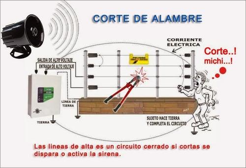 instalación de cerco eléctrico reparación, camaras,otros.