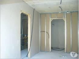 instalación de cielo razo y drywall.
