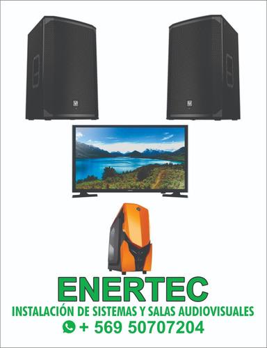 instalacion de cines caseros sistemas y salas audiovisuales