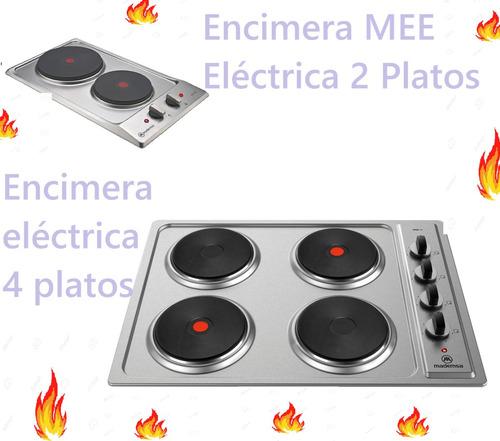 instalacion de cocina encimera y termo eléctrico
