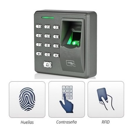 instalacion de control de acceso, alarma, ponchado