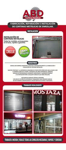 instalacion de cortinas metálicas, reparacion, urgencias 24h