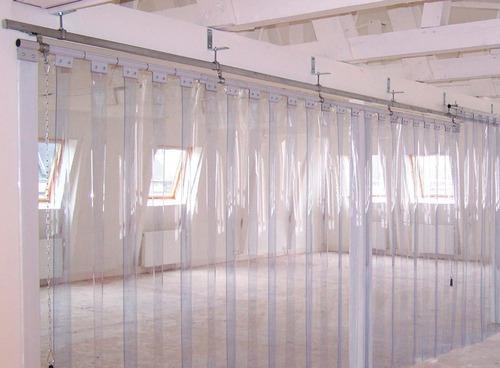 instalación de cortinas pvc industriales todo lima.