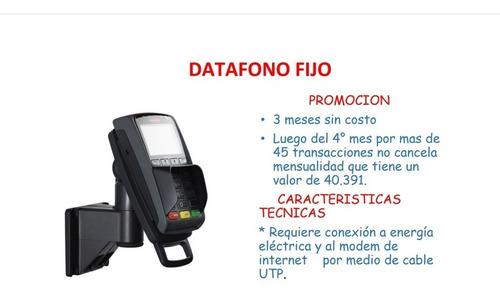 instalación de datafonos sin costo