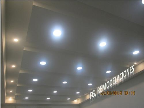 instalación de drywall, diseño y mantenimiento.