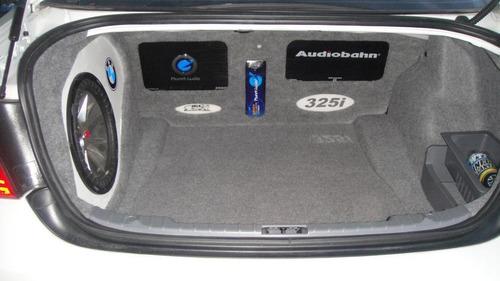 instalacion de equipo de audio automotriz