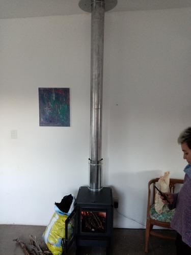 instalación de estufa alto rendimiento