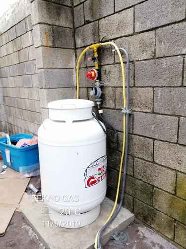 instalación de gas lp y mantenimiento de equipos
