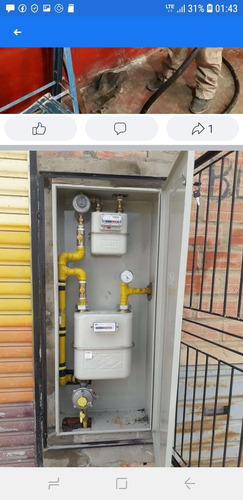 instalacion de gas natural