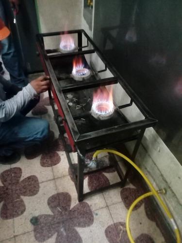 instalación de gas natural