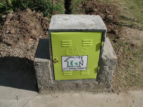 instalacion de gas natural - en cuotas - empresa