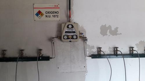 instalación de gases medicinales