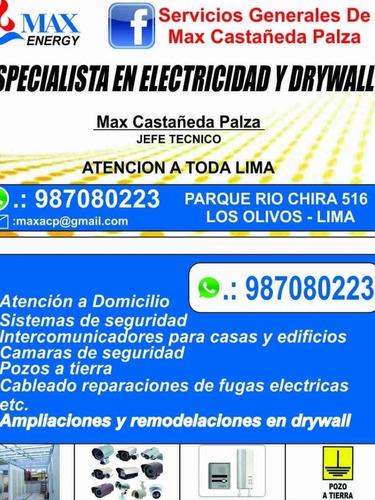 instalación de intercomunicadores , electricista