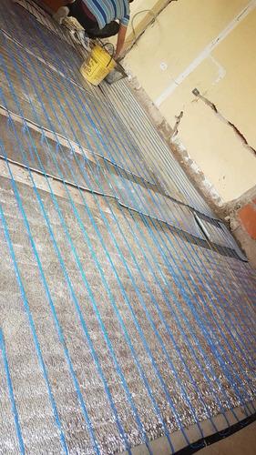 instalacion de loza radiante eléctrica