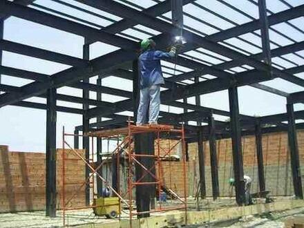 instalacion de machimbrado, estructuras metalicas y imper...