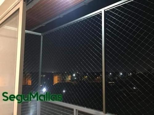instalación de mallas de seguridad