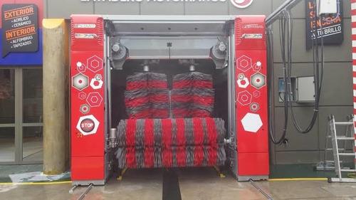 instalación de maquinas automáticas de autolavado